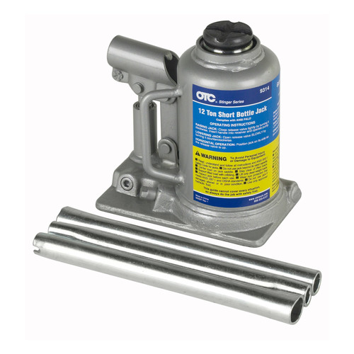 OTC Tools & Equipment 9314 12 Ton Short Bottle Jack
