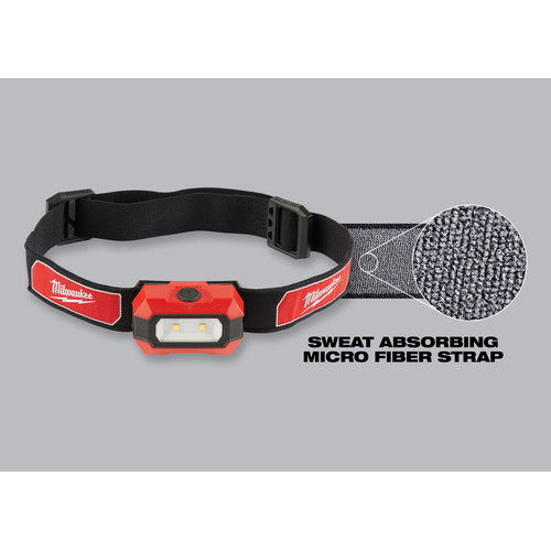 Milwaukee 2106 300 Lumens High Definition Headlamp image number 3