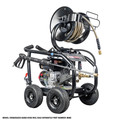 Simpson 65202 Super Pro 3600 PSI 2.5 GPM Direct Drive Small Roll Cage Professional Gas Pressure Washer with AAA Pump image number 2