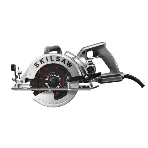 SKILSAW SPT77W-01 7-1/4 in. Aluminum Worm Drive Circular Saw with Carbide Blade