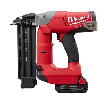 Factory Reconditioned Milwaukee 2740-81CT M18 FUEL Cordless Lithium-Ion 18-Gauge Brushless Brad Nailer Kit image number 1