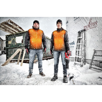 Milwaukee 203OG-20XL M12 Heated AXIS Jacket (Jacket Only) image number 8
