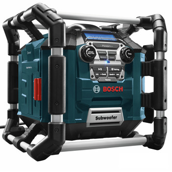 Bosch PB360C 18V Cordless Lithium-Ion Power Box Jobsite AM/FM Radio/Charger/Digital Media Stereo (Tool Only) image number 3