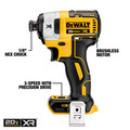 Dewalt DCK283D2 20V MAX XR Compact Brushless Lithium-Ion Cordless Drill/Driver and Impact Driver Combo Kit (2 Ah) image number 8