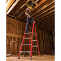 Louisville FXP1706 6 ft. Type IA Duty Rating 300 lbs. Load Capacity Fiberglass Platform Step Ladder image number 2