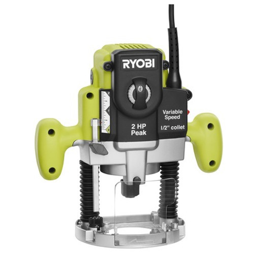 Factory Reconditioned Ryobi ZRRE180PL1G 10 Amp 2 Peak HP Plunge Router image number 0