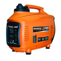 Factory Reconditioned Generac iX2000 iX Series 2,000 Watt Portable Inverter Generator (CARB)