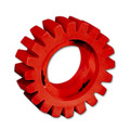 Dynabrade 92255 Red-Tred Eraser Wheel 4 in. x 3/4 in.