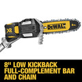 Dewalt DCPS620B 20V MAX XR Cordless Lithium-Ion Pole Saw (Tool Only) image number 7