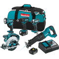 Makita XT505 18V LXT 3.0 Ah Cordless Lithium-Ion 5-Piece Combo Kit