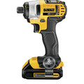 Factory Reconditioned Dewalt DCF885C2R 20V MAX Lithium-Ion 1/4 in. Cordless Impact Driver Kit (1.5 Ah) image number 2