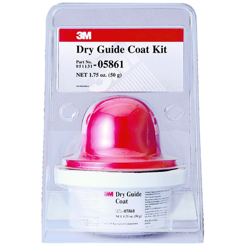 3M 5861 Dry Guide Coat 50 Gr. Cartridge and Applicator Kit
