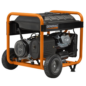 Factory Reconditioned Generac 6931R 420cc Gas 8,000 Watts Portable Generator with Cord image number 2