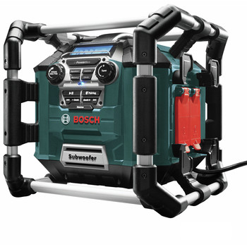 Factory Reconditioned Bosch PB360C-RT 18V Cordless Lithium-Ion Power Box Jobsite AM/FM Radio/Charger/Digital Media Stereo (Tool Only) image number 1