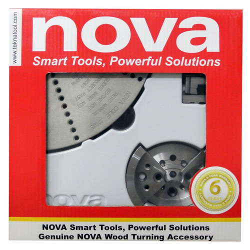 NOVA 6033 3-Piece Chuck Jaw Assortment Bundle