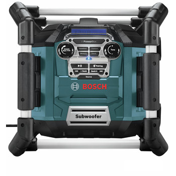Bosch PB360C 18V Cordless Lithium-Ion Power Box Jobsite AM/FM Radio/Charger/Digital Media Stereo (Tool Only) image number 2