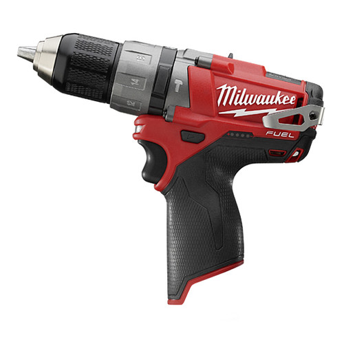 Factory Reconditioned Milwaukee 2404-80 M12 FUEL 12V Cordless Lithium-Ion 1/2 in. Hammer Drill Driver (Bare Tool)
