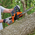 Black & Decker LCS1020 20V MAX Brushed Lithium-Ion 10 in. Cordless Chainsaw Kit (2 Ah) image number 8