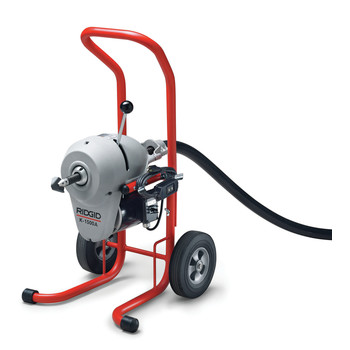 Ridgid K-1500A 115V 0.75 HP Sectional Drain Cleaning Machine Kit