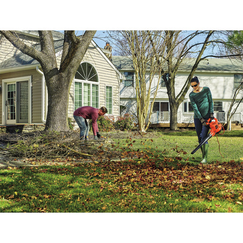 Black & Decker BEBL7000 3-in-1 VACPACK 12 Amp Leaf Blower, Vacuum and Mulcher image number 7