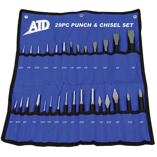 ATD 729 29-Piece Punch And Chisel Set image number 0