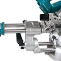 Makita XSL02Z 18V X2 LXT Cordless Lithium-Ion 7-1/2 in. Brushless Dual Slide Compound Miter Saw (Tool Only) image number 3