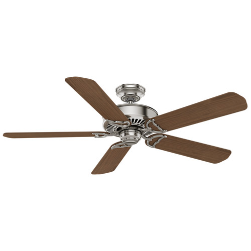 Casablanca 55067 54 in. Panama Brushed Nickel Ceiling Fan with Wall Control