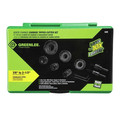 Greenlee 648 8-Piece Quick-Change Carbide Cutter Kit image number 1
