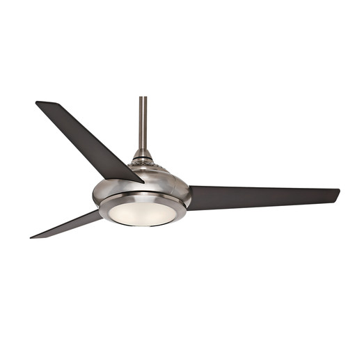 Casablanca 59064 52 in. Tercera Brushed Nickel Ceiling Fan with Light and Remote