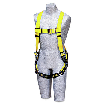 DBI-Sala 70007407805 Full-Body Harness, Tongue Buckles, Back D-Ring, Universal, 420lb Capacity image number 0