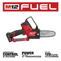 Milwaukee 2527-21 M12 FUEL HATCHET Brushless Lithium-Ion 6 in. Cordless Pruning Saw Kit (4 Ah) image number 3