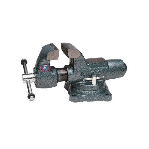 Wilton 10016 400s Machinists Bench Vise Swivel Base 4 In Jaw