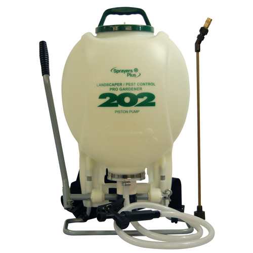 Sprayers Plus 202 4 Gallon Pro Gardener Backpack Sprayer with External Piston Pump