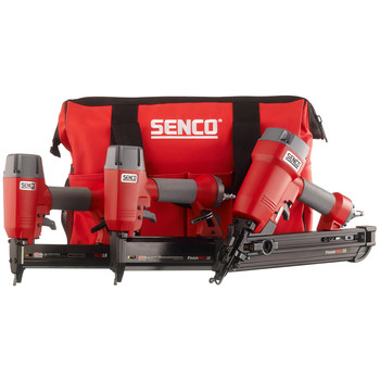 SENCO 1Y0060N FinishPro 3-Tool Nailer and Stapler Combo Kit