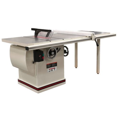 JET JTAS-12-DX 5HP 12 in. Single Phase Left Tilt Deluxe XACTA Table Saw with 40-1/2 in. XACTAFence II