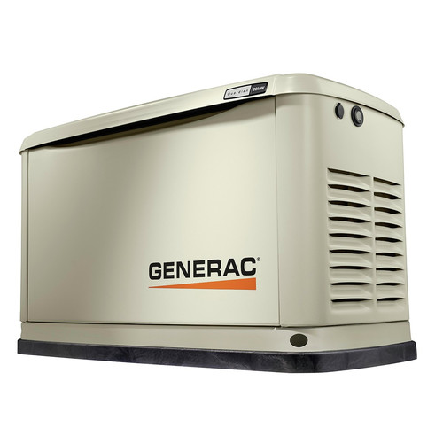 Generac 70381 Guardian Series 20/18 KW Air-Cooled Standby Generator with Wi-Fi, Aluminum Enclosure