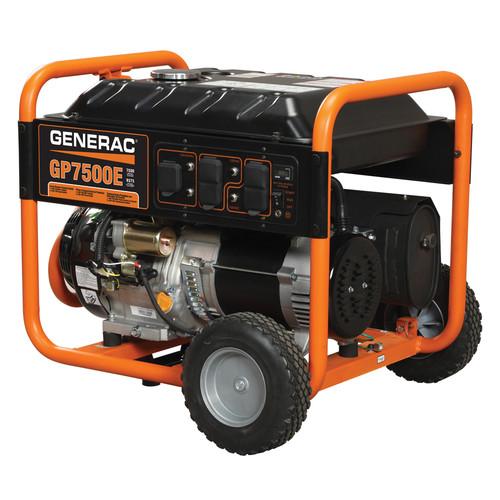 Generac GP7500E GP Series 7,500 Watt Portable Generator