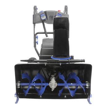 Snow Joe ION8024-XR 80V 24 in. Li-Ion 2-Stage 4-Speed Snow Blower with (2) 5.0 Ah Batteries image number 2