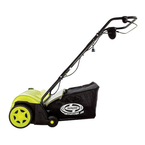 Sun Joe AJ800E Dethatcher Joe 11 Amp 14 in. Electric Dethatcher with Thatch Collection Bag