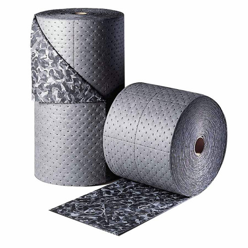Brady BM15 BattleMat 25 Gallon Capacity 18-1/2 in. x 150 ft. Absorbent Roll - Industrial Camouflage image number 0