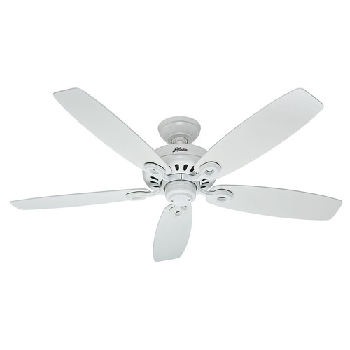 Factory Reconditioned Hunter CC54108 52 in. Snow White Indoor Ceiling Fan