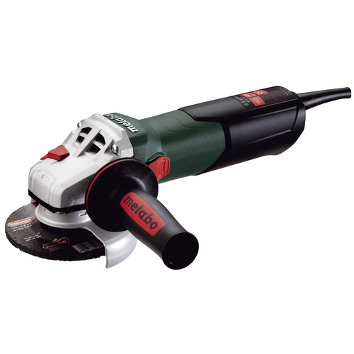 Metabo W9-115 Quick 8.5 Amp 4-1/2 in. Angle Grinder with Lock-On Sliding Switch