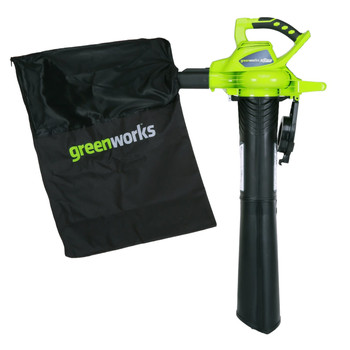 Greenworks 24312 40V G-MAX Lithium-Ion DigiPro Brushless Variable-Speed Handheld Blower Vac (Tool Only) image number 1