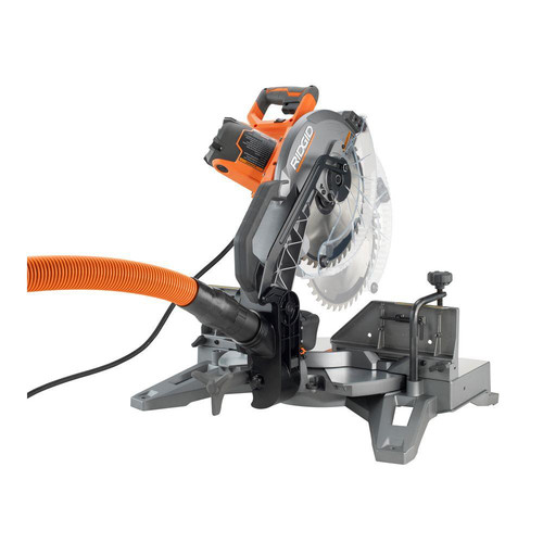 Factory Reconditioned Ridgid ZRR4122 12 in. Dual Bevel Compound Miter Saw with Laserguide image number 1