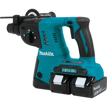 Makita XRH05PT 18V X2 (36V) LXT Cordless Lithium-Ion 1 in. Rotary Hammer Kit image number 5