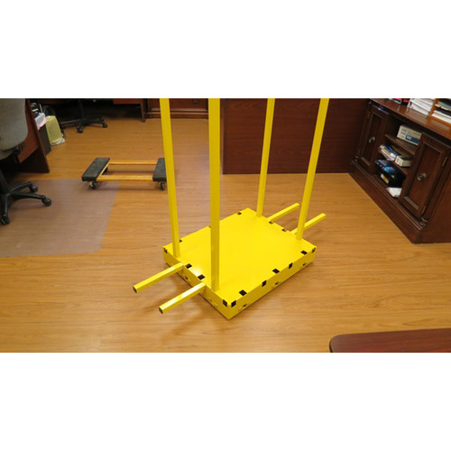 Saw Trax SD 1,000 lb. Capacity Yel-Low Safety Dolly