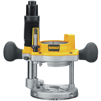 Dewalt DW618PK 2-1/4 HP EVS Fixed Base & Plunge Router Combo Kit with Hard Case image number 1