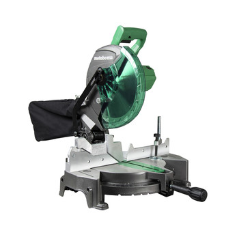 Factory Reconditioned Metabo HPT C10FCGSM 15 Amp Single Bevel 10 in. Corded Compound Miter Saw