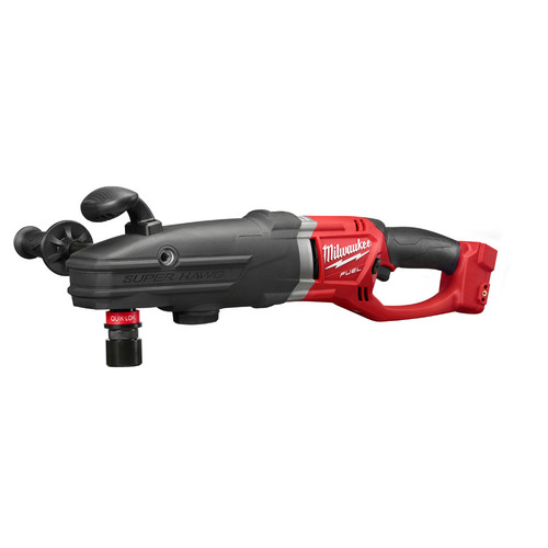 Factory Reconditioned Milwaukee 2711-80 M18 FUEL 18V Lithium-Ion SUPER HAWG 1/2 in. Right Angle Drill with QUIK-LOK (Bare Tool)