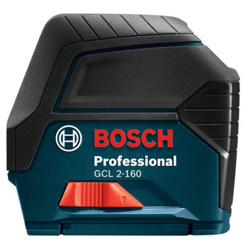 Factory Reconditioned Bosch GCL2-160-RT Self-Leveling Cross-Line Laser with Plumb Points image number 1